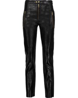 Arnold Leather Skinny-leg Pants