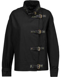 Haley Cotton And Linen-blend Jacket
