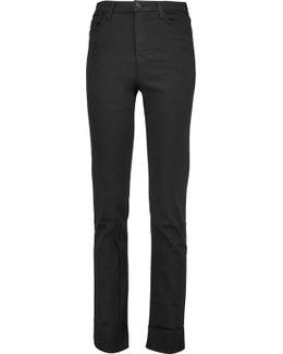 Maria High-rise Straight-leg Jeans