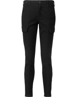 Houligan Cargo Cotton-blend Twill Skinny Pants