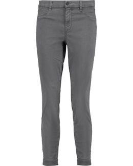 Anja Stretch-twill Skinny Pants
