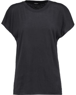 Cotton And Cashmere-blend Tank