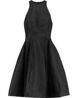 Satin-jacquard Mini Dress