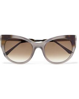 Bunny Cat-eye Acetate Sunglasses