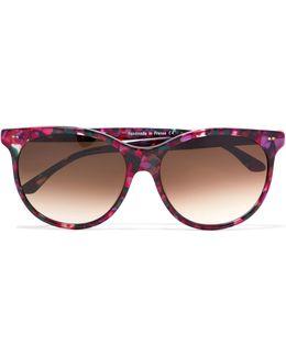 Screamy Square-frame Acetate Sunglasses