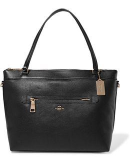 Tyler Textured-leather Tote