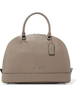 Sierra Textured-leather Tote
