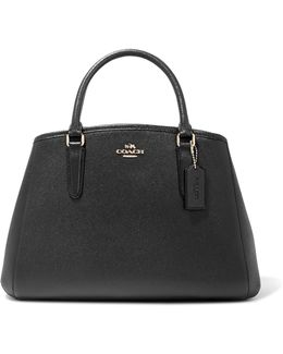 Margot Textured-leather Tote