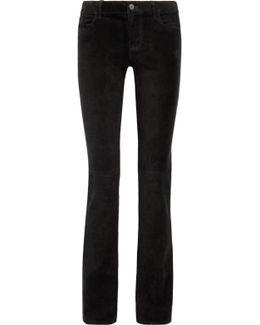 Brya Suede Bootcut Pants