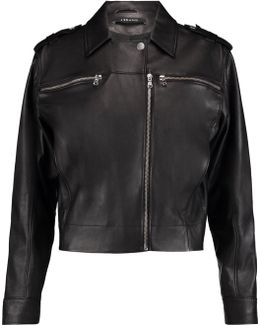 Maisie Leather Biker Jacket
