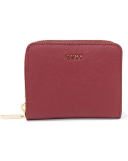 Textured-leather Wallet