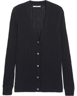 Westmore Open-knit Cotton Cardigan
