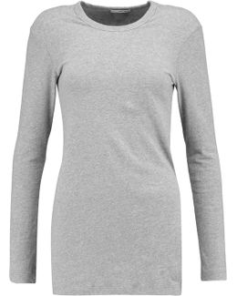 Brushed Cotton-blend Sweater