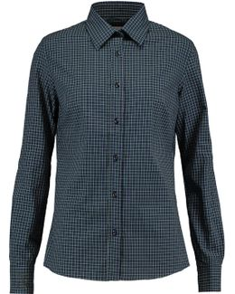 Printed Cotton And Wool-blend Shirt