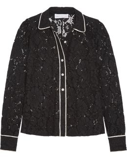 Corded Lace Shirt