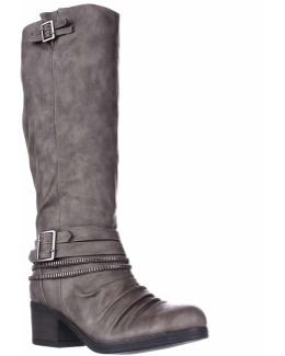 Candace Zipper Lined Knee High Boots