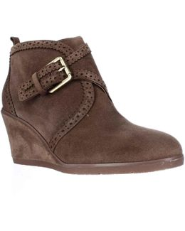 Arielle Wedge Ankle Booties