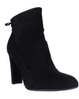 Justice Back Lace Ankle Booties