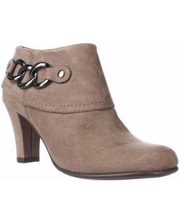 First Role Chain Link Ankle Booties
