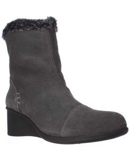 Bravery Wedge Fleece Lined Winter Boots