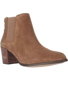 Geordanna Pull On Ankle Boots