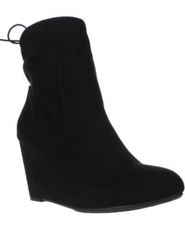 Unnie Slouch Wedge Booties