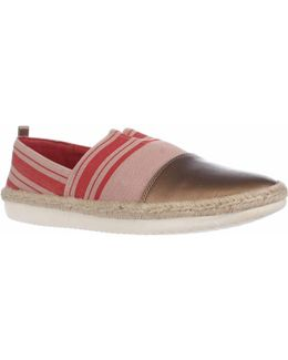 Ordell Cap Toe Espadrilles - Light Pink Multi Light Copper