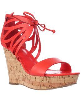 Hopela Ankle Strap Platform Sandals