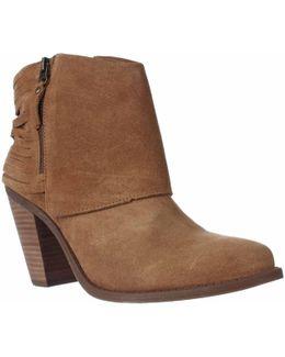 Cerrina Western Ankle Booties