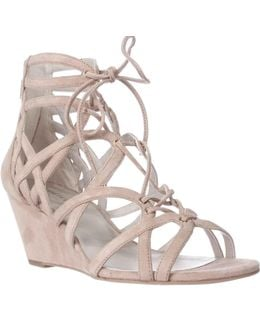 New York Dylan Wedge Strappy Sandals