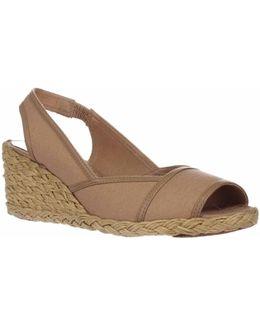 Lauren Ralph Lauren Catrin Espadrille Wedge Sandals