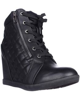 Baaxter Hidden Wedge Ankle Boots