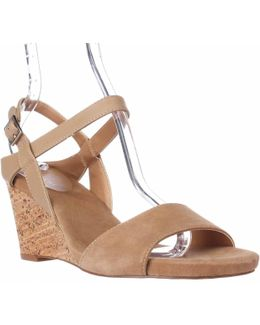 Fun Ankle Strap Wedge Sandals