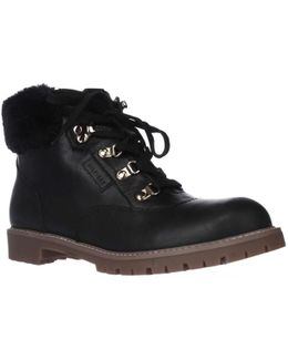 Tucker Cuffed Lace Up Boots