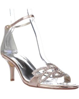 Cabaret Ankle Strap Evening Sandals
