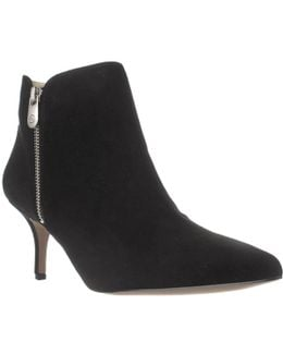Senji Double Zip Ankle Booties