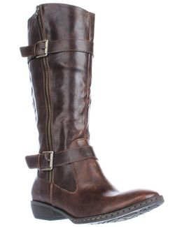 Lampards Knee High Harness Boots