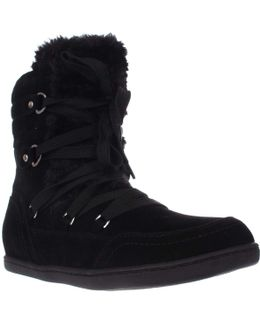 Ryla High Top Sherling Fashion Sneakers