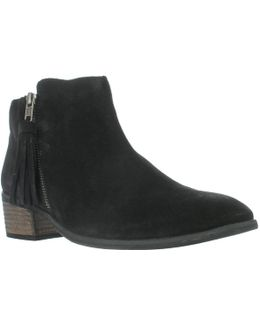 Emerson Tassel Ankle Boots