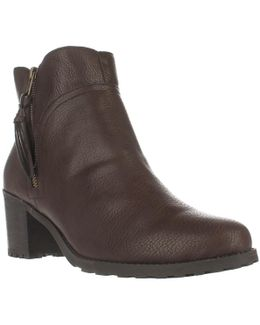 Convincing Lug Sole Ankle Boots
