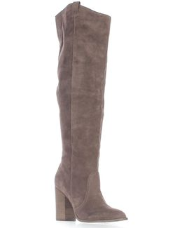 Galina Over The Knee Western Boots