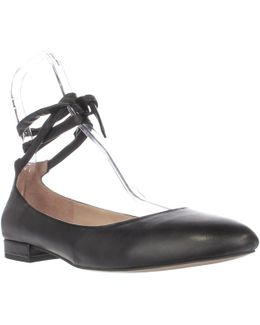 Becca Ankle Strap Ballet Flats