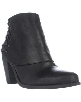 Caysy Back Strapped Ankle Boots
