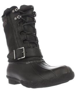 Saltwater Misty Mid Calf Rain Boots