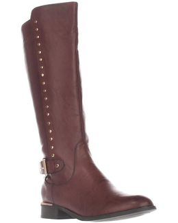 Pub Studded Riding Boots