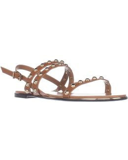 Caia Studded Flat Sandals