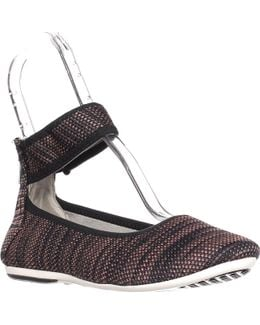 Spin Class Ankle Strap Ballet Flats