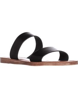 Imo Double Strap Slide Sandals