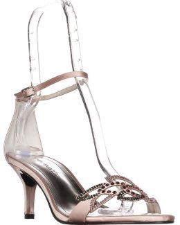 Cabaret Ankle Strap Evening Sandals