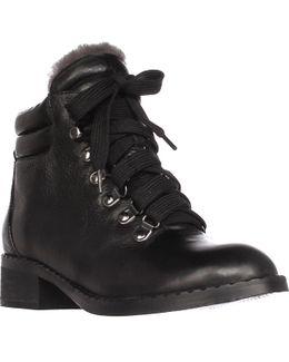 Brooklyn2 Lined Combat Boots